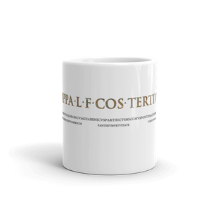 Pantheon Inscriptions Mug