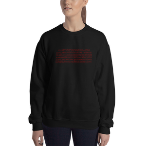 Trajan's Column Inscription Sweatshirt