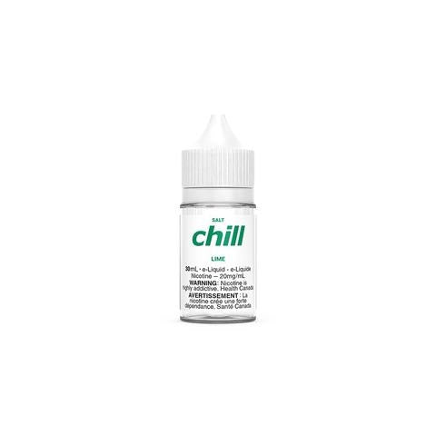 LIME BY CHILL E-LIQUIDS SALT