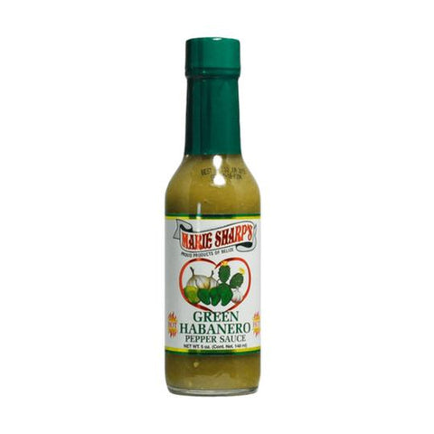 Marie Sharp's Green Habanero Nopal Prickly Pear Cactus Pepper Sauce (5oz)