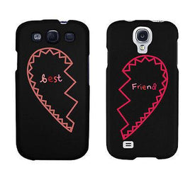 Best Friend Half Heart Matching Phonecases Cute BFF Phone Covers Gift - Trivoshop