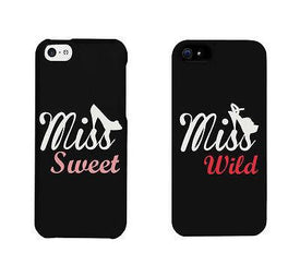 Miss Sweet And Wild Shoes Cute BFF Matching Phone Cases For Best Friends - Trivoshop