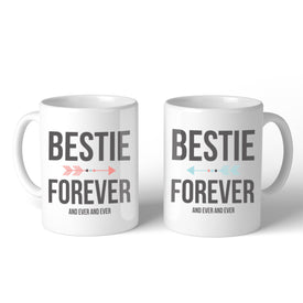 Bestie Forever BFF Mugs Christmas Birthday Gifts For Friend