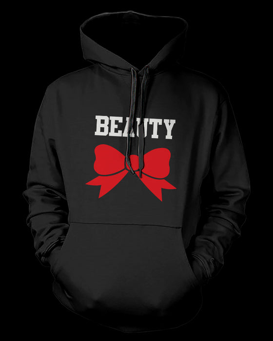 Beauty and Beast Couples Hoodies Cute His and Her Matching Outfit