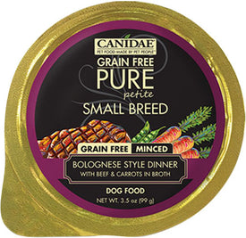 Canidae - Pure - Canidae Pure Petite Small Breed Minced Wet Food (Case of 12 )