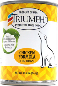 Triumph Pet Industries - Canned Dog Food (Case of 12 )