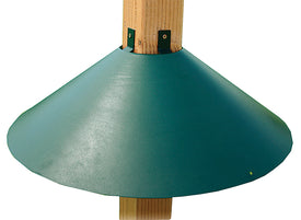Audubon/woodlink - Wrap Around Post Mount Squirrel Baffle