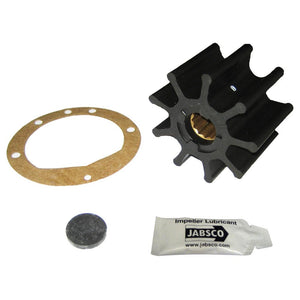 "Jabsco Impeller Kit - 9 Blade - Nitrile - 3-3-4"" Diameter x 2-1-2"" W, 1"" Shaft Diameter"