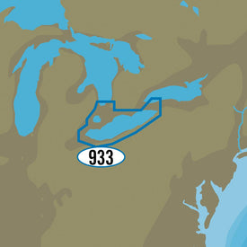 C-MAP MAX-N+ NA-Y933 - Lake Erie & Lake St. Clair