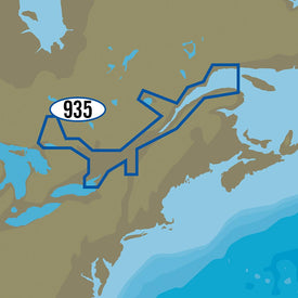 C-MAP MAX-N+ NA-Y935 - St. Lawrence River