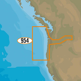 C-MAP MAX-N+ NA-Y954 - Cape Blanco to Cape Flattery