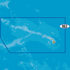 C-MAP MAX-N+ NA-Y963 - Hawaiian Islands