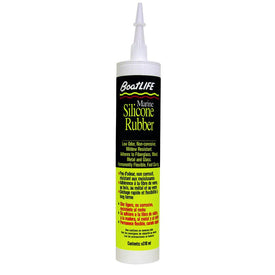 BoatLIFE Silicone Rubber Sealant Cartridge - Clear - Trivoshop