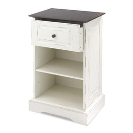 Storage Cabinet w Shelf Wht