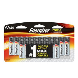 Energizer Max Aa 20 Pack - Trivoshop