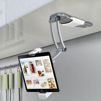 2in1 iPAD Kitchen Mount Stand - Trivoshop