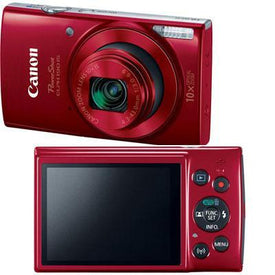 Ps Elph 190 Is 20mp Red - Trivoshop