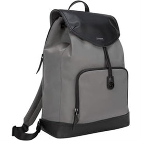 "Newport 15"" Drawstring Grey BP"