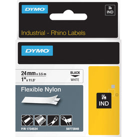 Dymo Flexible Nylon Tape - Roll (0.94 In X 11.5 Ft)