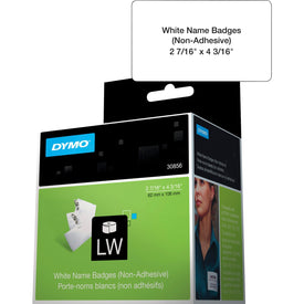 Dymo Name Badge With Clip Hole - Name Badge Labels - 1 Pcs