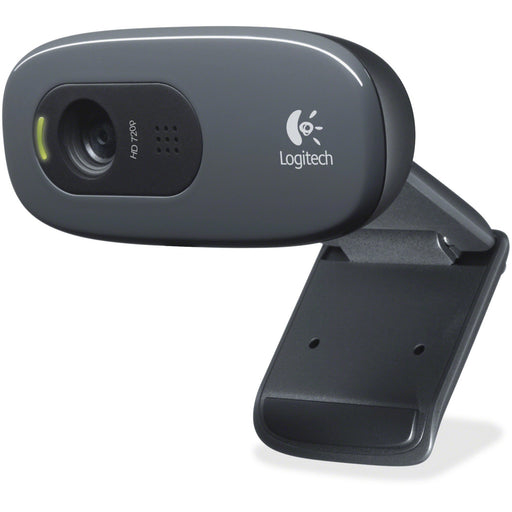 Logitech C270 Webcam - Black - USB 2.0 - 1 Pack(s)