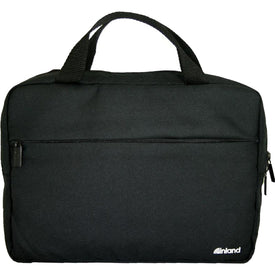 "Inland Carrying Case (Briefcase) for 15.6"" Notebook - Black"