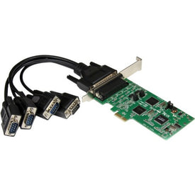StarTech.com 4 Port PCI Express PCIe Serial Combo Card - 2 x RS232 2 x RS422 - RS485