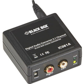 Black Box Digital Audio Converter - 5.1 Channel