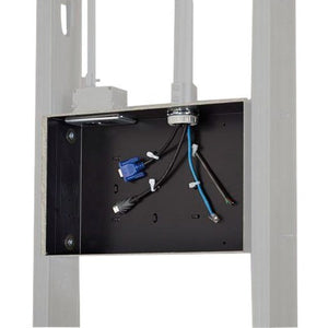 Chief Manufacturing The Pac525 Simplifies Flat Panel Installation By Providing An Organized, Recesse