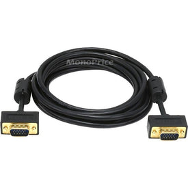 Monoprice, Inc. 10ft Slim Super Vga M-m Monitor Cable