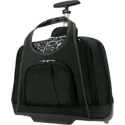 "Kensington Contour Balance Carrying Case (Roller) for 15.4"" Notebook - Black - Trivoshop"
