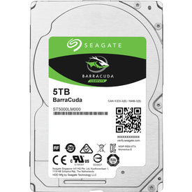 Seagate Barracuda 5tb 2.5 Sata Hdd 128mb