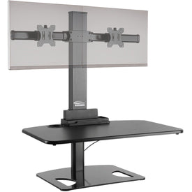 Ergotech Group, Inc. Sitstand Supports 1030 Lbs. Displays Up To 30inch Wide. Pneumatic Cylinder Assis