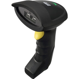 Adesso 2.4ghz Rf Wireless Ccd Barcode Scanner, Transmit Barcode Data To Its Char