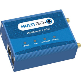 Multi-Tech MultiConnect eCell MTE-LAT6 Cellular, Ethernet Modem-Wireless Router - TAA Compliant