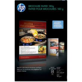 Hp Inc. Hp Inkjet Glossy Brochure Paper 180 Gsm-150 Sht-tabloid-11 X 17 In