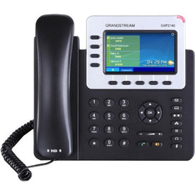 Grandstream Grandstream Gxp2140 4-line Hd Ip Phone W- Poe With Color Lcd. 4 Lines, 5 Xml Pro