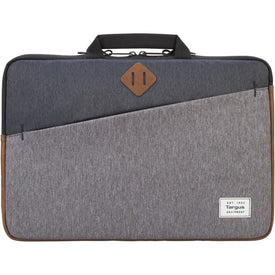 "Targus Strata II TSS937 Carrying Case (Sleeve) for 15.6"" Notebook - Charcoal"