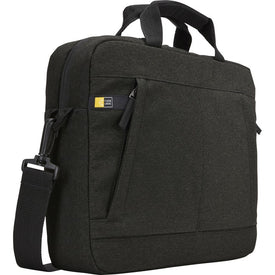 "Case Logic Huxton HUXA-113-BLACK Carrying Case (Attaché) for Apple 13.3"" Notebook - Black"