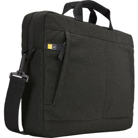 "Case Logic Huxton HUXA-115-BLACK Carrying Case (Attaché) for Apple 15.6"" Notebook - Black"