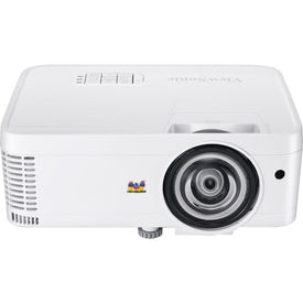 Viewsonic Wxga Short Throw Dlp Projector For Business And Education, 3,500 Lumens, Native