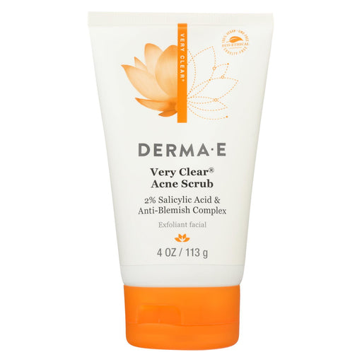 Derma E - Very Clear Cleansing Scrub - 4 Fl Oz.