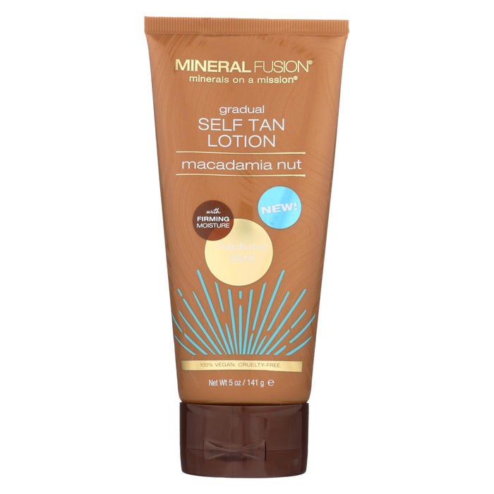 Mineral Fusion - Gradual Self Tan Lotion - Medium-dark - 5 Oz.