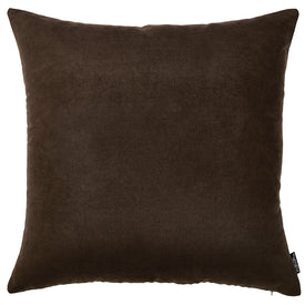 "18""x18""Brown Honey Decorative Throw Pillow Cover 2 pcs in set"