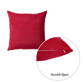 "20""x20"" Red Honey Decorative Throw Pillow Cover (2 pcs in set)"