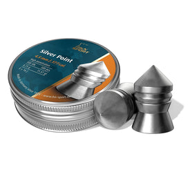 H and N Silver Pointed Airgun Pellets .177 cal. - Trivoshop