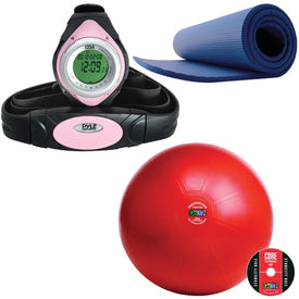 KIT PILATES MAT HRM