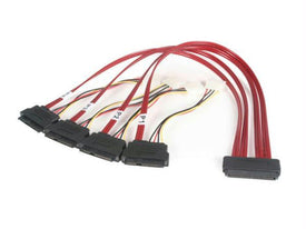 Startech 50cm Serial Attached Scsi Sas Cable - Sff-8484 To Sff-8482 - Trivoshop