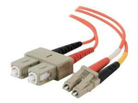 Legrand C2g 1m Lc-lc 62.5-125 Om1 Duplex Multimode Fiber Optic Cable (taa Compliant) - O