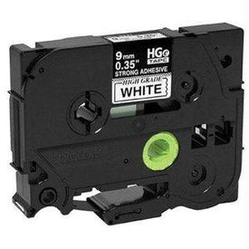Brother Mobile Solutions 9 Mm Black On White High Grade Tape